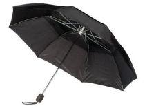 Зонт складной Slazenger с двойным куполом механический, черный купить