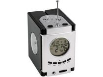 Погодная станция с радио: часы, будильник, дата, термометр, гигрометр купить