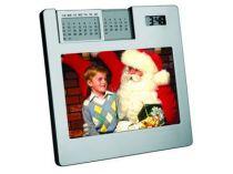Рамка для фотографии 10х15 см с часами и «вечным» календарем купить