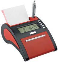 USB Hub на 4 порта с часами, калькулятором, календарем и рамкой для фотографии 10х5 см, красный купить