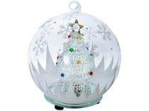 Новогодняя елка в шаре с меняющей цвет подсветкой купить