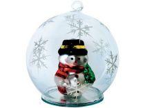 Новогодний шар со снеговиком купить