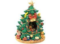 Новогодняя ёлка с секретом — внутри еще одна лесная красавица с игрушками вращается под мелодию Jingle Bells - замечательный подарок маме на Новый Год купить
