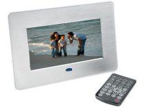 Цифровая рамка для фотографий с часами, календарем, будильником и возможностью проигрывания аудио и видео файлов купить