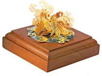 Композиция «Эстетика финансов». Подставка с магнитом позволяет конструировать причудливые комбинации из «рублевых монет», знаков доллара и евро, а также процентов купить
