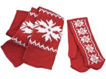 Теплый привет из Лапландии. Шарф и варежки в подарочной коробке в виде Деда Мороза, коричневый. Упаковку можно использовать круглый год в качестве шкатулки купить