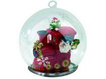Новогодний шар с Дедом Морозом — машинистом Новогоднего экспресса купить