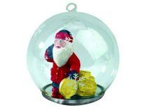 Новогодний шар с Дедом Морозом — банкиром купить