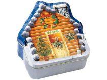 CD-диск с записью самых популярных рождественских песен в подарочной коробке в виде избушки. Именно в таком деревянном заснеженном домике в окружении родных и в сопровождении хорошей музыки мечтается встретить Новый Год купить