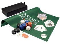 Набор для игры в покер и блэк джек «Белладжио»: 2 колоды карт, фишки, игровое поле в подарочном футляре купить