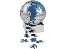 Головоломка «Земной шар» в виде паззлов на магните, синяя купить