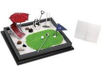 Набор «Считаем дни до отпуска!». Композиция для создания пляжа с морским белым песочком и поля для гольфа в миниатюре, а также «вечный календарь», позволяющий отсчитывать дни до отпуска купить
