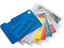 Футляр для кредитных и дисконтных карт, синий купить
