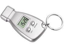 Брелок-измеритель давления в шинах с часами и фонариком купить