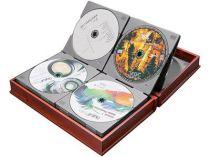 Альбом для 24 CD-дисков в виде книги купить