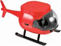 CD-плеер в виде вертолета, красный.  Диск вращается, создавая иллюзию вращающихся лопастей вертолета купить