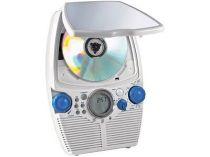 СD-плеер водонепроницаемый с часами, незапотевающим зеркалом и радио. Имеет 3 варианта крепления купить