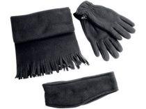 Набор: повязка на голову, перчатки, шарф от Oma-Promo, Art. o1_866617 Promo