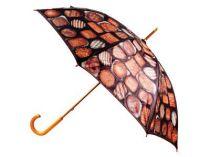 Зонт-трость с деревянной ручкой «Все в шоколаде» купить