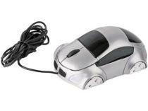 Мышка оптическая в форме машинки с подсветкой фар, работающая от USB купить