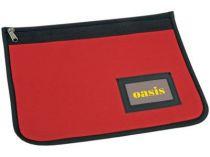 Папка для документов с отделением для визиток на молнии, красная от Oma-Promo, Art. o1_920111 Promo