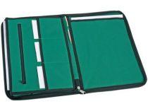 Папка для документов на молнии, зеленая от Oma-Promo, Art. o1_920123 Promo