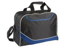 Сумка дорожная с одним отделением и карманом на молнии, синяя от Oma-Promo, Art. o1_935992 Promo