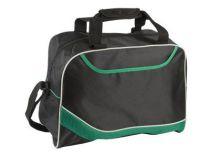 Сумка дорожная с одним отделением и карманом на молнии, зеленая от Oma-Promo, Art. o1_935993 Promo