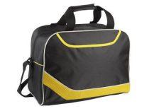 Сумка дорожная с одним отделением и карманом на молнии, желтая от Oma-Promo, Art. o1_935994 Promo