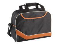 Сумка дорожная с одним отделением и карманом на молнии, оранжевая от Oma-Promo, Art. o1_935998 Promo