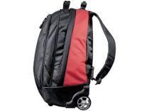 Рюкзак на колесиках с выдвижной ручкой, красный купить