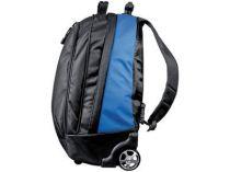 Рюкзак на колесиках с выдвижной ручкой, синий купить