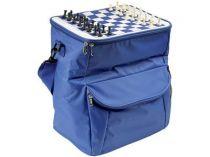 Сумка-холодильник на 25 л с дорожными шахматами купить