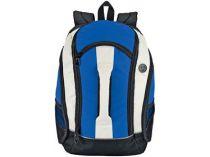Рюкзак с 4 отделениями, чехлом для МР3 плеера и выходом для наушников, синий купить