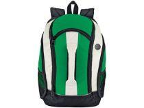 Рюкзак с 4 отделениями, чехлом для МР3 плеера и выходом для наушников, зеленый купить