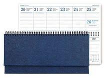 Планинг датированный Dallas 298х140 мм синий купить