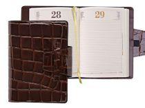 Ежедневник  CROCO 2057 коричневый купить