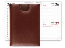 Ежедневник Shia new 5450 (650) 145x205 мм коричневый купить
