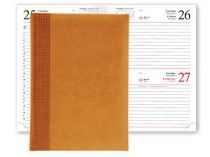 Ежедневник VELVET 5450 (650) 145x205 мм  апельсин купить