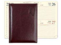 Ежедневник PORTLAND 5459 (650) 145x205 мм бургунди, кремовый блок, золоченый срез купить