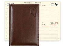 Ежедневник PORTLAND 5459 (650) 145x205 мм коричневый, кремовый блок, золоченый срез купить