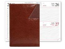 Ежедневник VALENCIA 5450 (650) 145x205 мм  каштановый купить