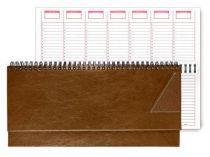 Недатированный планинг VALENCIA 5496 (794U) 298x140 мм светло-коричневый купить