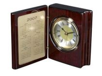 """Часы настольные """"Книга Времени"""" с рамкой для фотографий или календарем купить"""