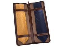 Чехол для галстуков Alessandro Venanzi (Алессандро Венанзи) кожаный купить
