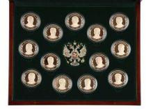 """Набор медалей """"История в лицах. Россия XX-XXI век""""* купить"""
