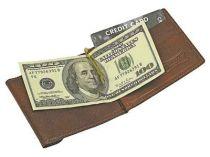 Портмоне с зажимом для денег кожаное Giulio Barca (Джулио Барка) купить