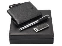 Набор Cerruti 1881 (Черрути 1881): портмоне, шариковая ручка, карта памяти USB 2.0 на 2 Гб купить