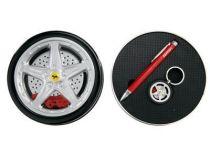 Набор Ferrari (Феррари): ручка шариковая, брелок купить