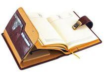 """Ежедневник """"Люкс"""" Giulio Barca (Джулио Барка) с записной и адресной книжкой в обложке из натуральной кожи, формат А5 купить"""